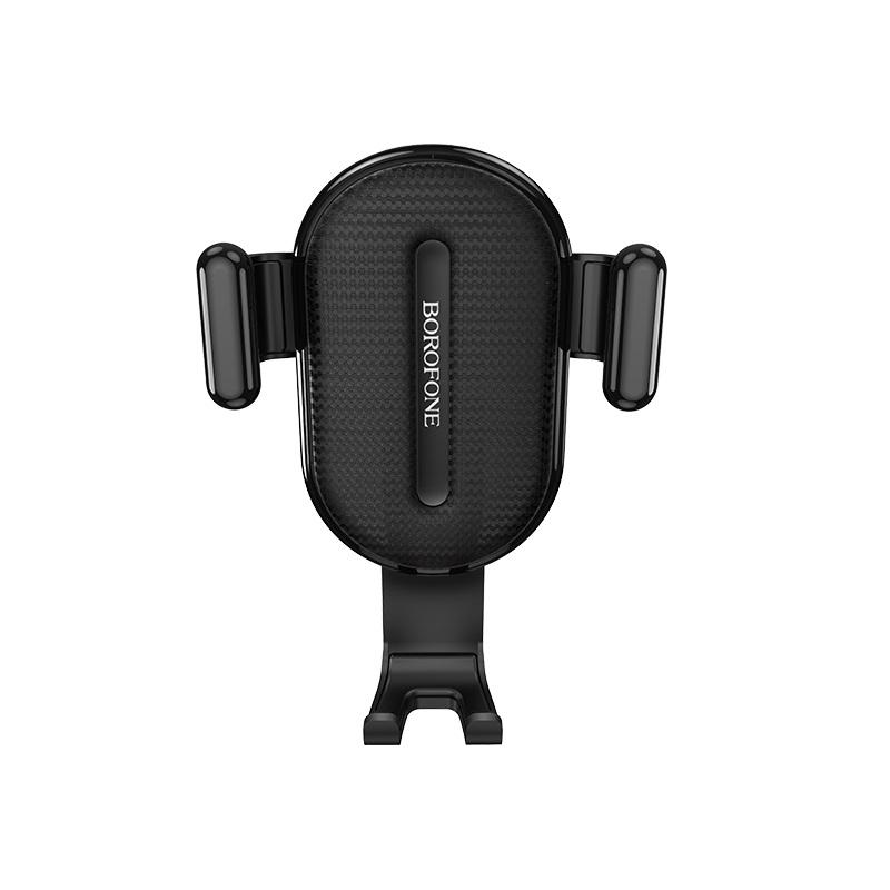 Borofone gravitációs autós telefontartó szellőzőrácsra Air BH11 - Fekete