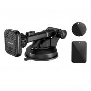 Borofone mágneses telefontartó szélvédőre, műszerfalra Vanda BH21 - Fekete
