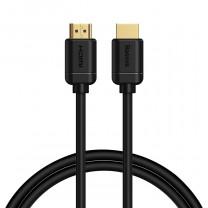 Baseus HDMI 2.0 kábel 4K 60 Hz 3D HDR 18 Gbps 1m - Fekete