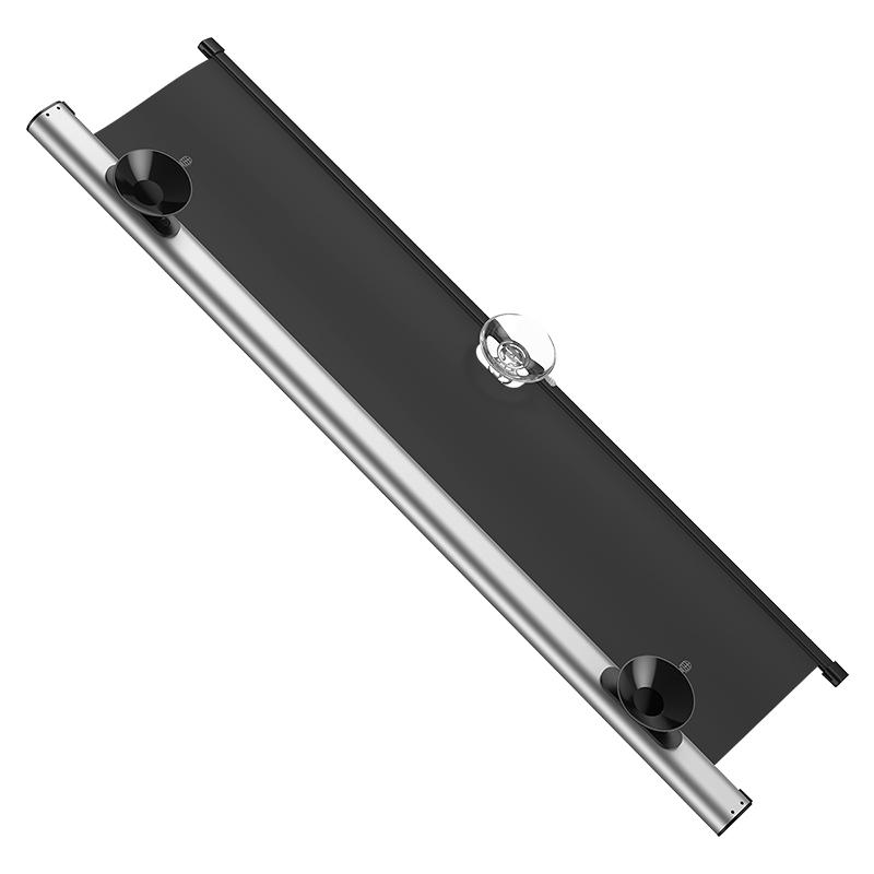 Baseus szélvédő árnyékoló tapadókoronggal 140x65cm - Ezüst