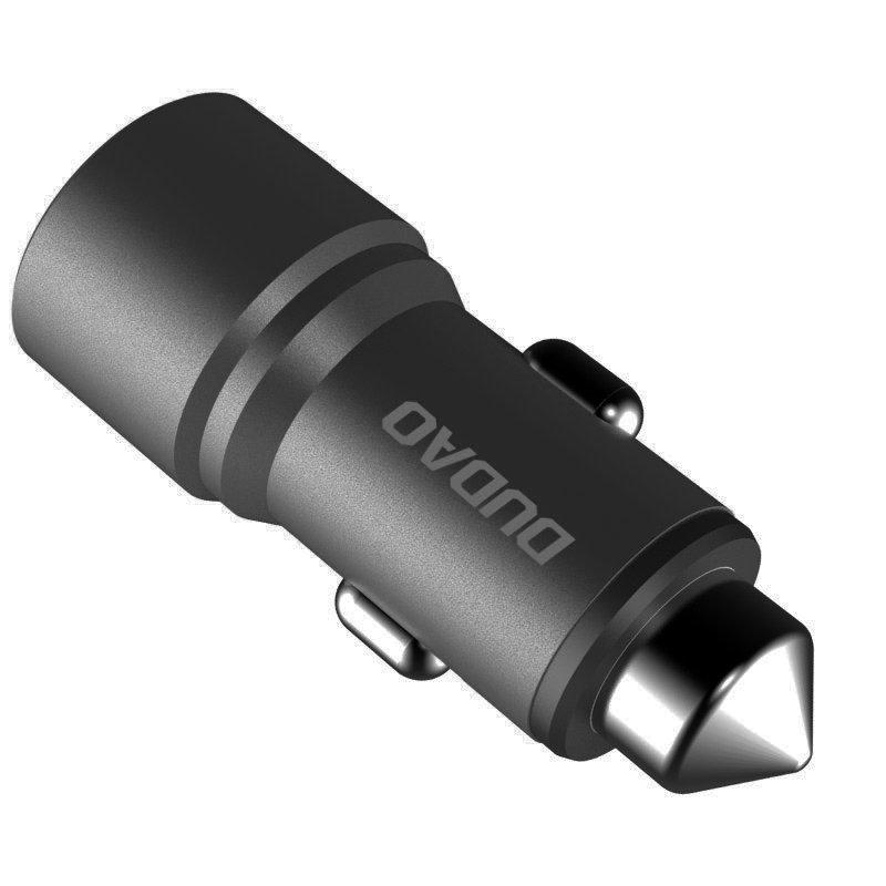 Dudao univerzális autós töltő 2x USB 3.1A R5 - Szürke