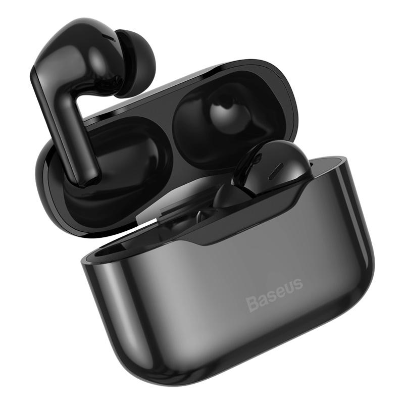 Baseus TWS Vezeték nélküli Bluetooth fülhallgató headset S1 Baseus - Fekete