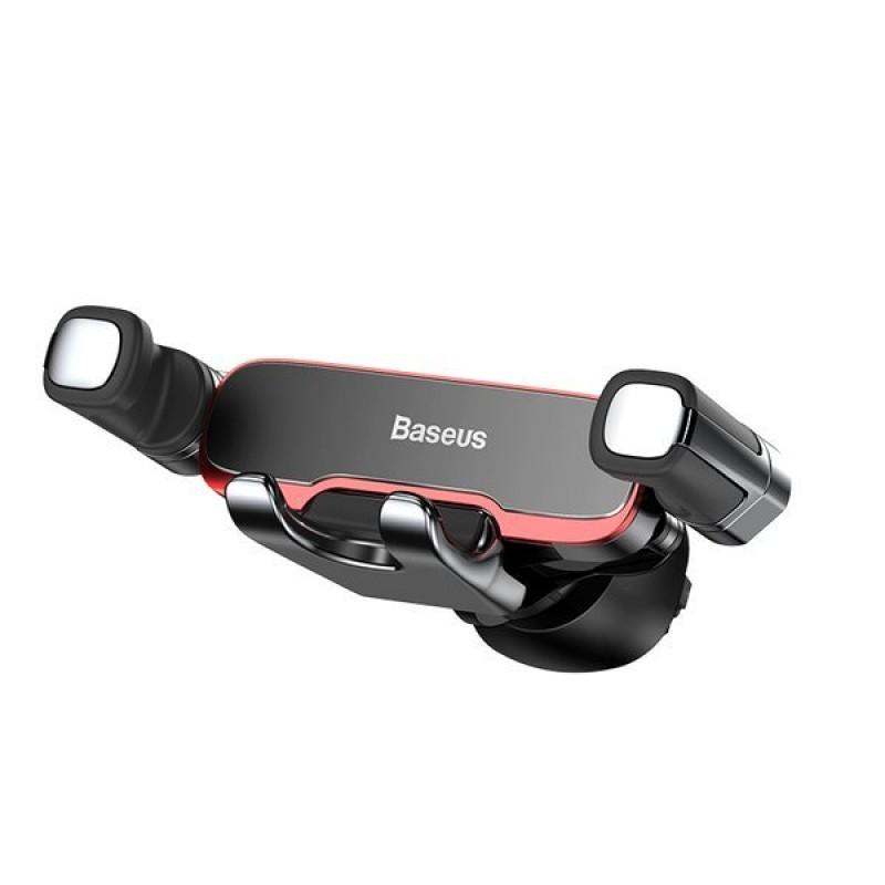 Baseus Mr Hui Gravitációs autós telefontartó szellőzőre - Fekete