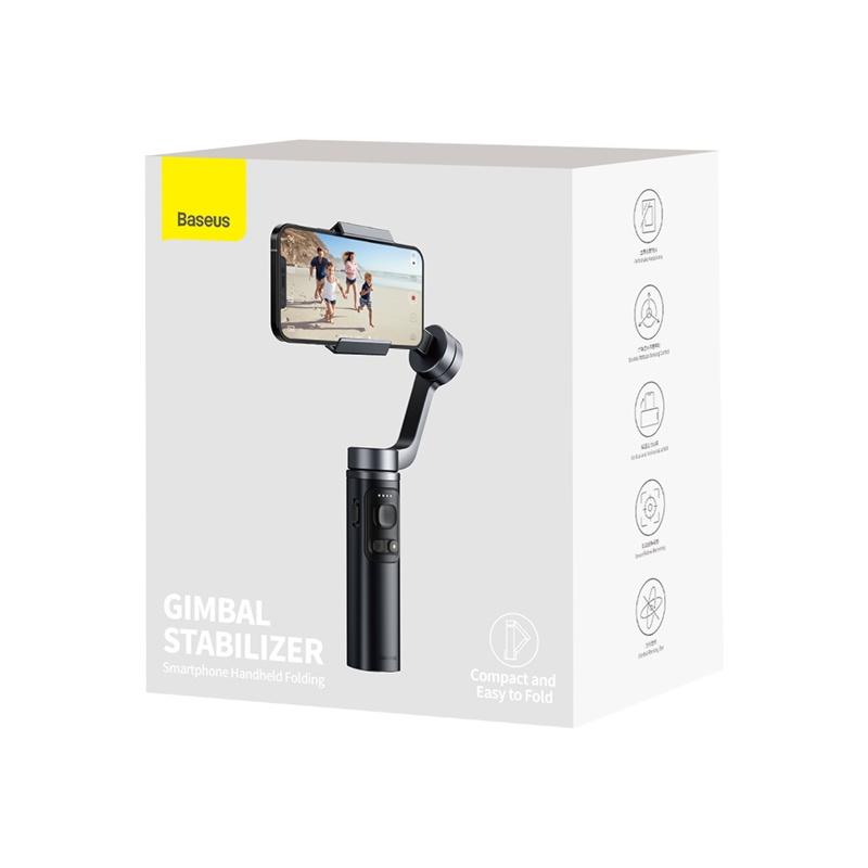 Baseus Gimbal okostelefon kézi stabilizátor fényképekhez és videók rögzítéséhez