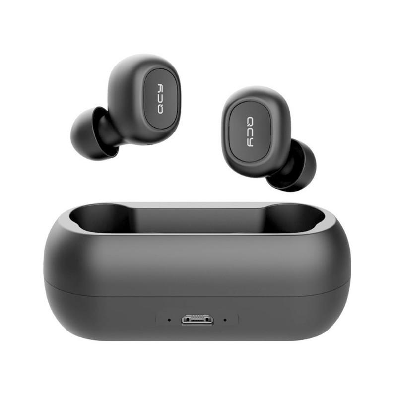 QCY TWS vezeték nélküli Bluetooth V5.0 fülhallgató  headset T1C  - Fekete