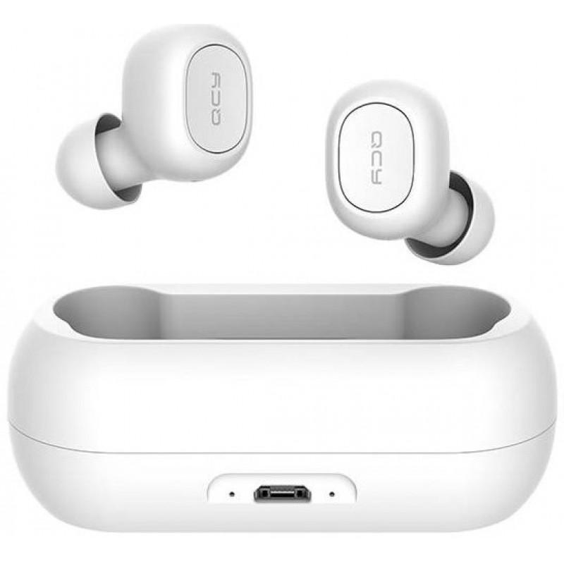QCY TWS vezeték nélküli Bluetooth V5.0 fülhallgató  headset T1C  - Fehér