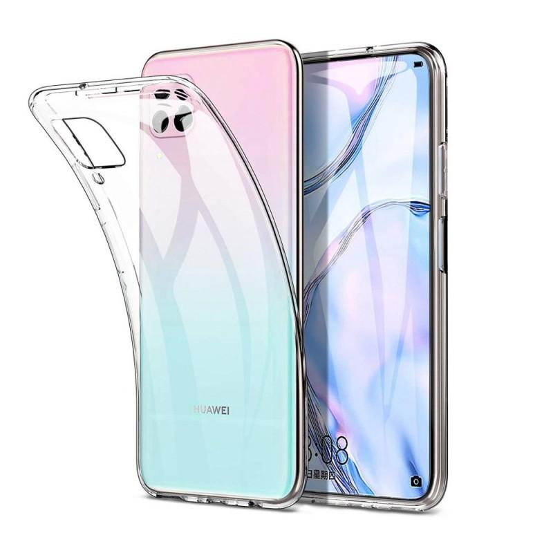 Huawei P40 Lite Ultra slim szilikon védőtok - Átlátszó
