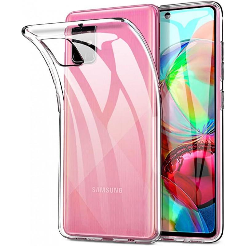 Samsung Galaxy A71 Ultra Slim szilikon tok