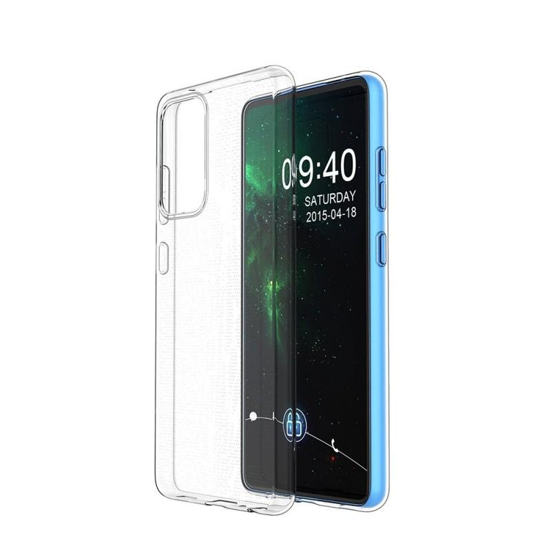Samsung Galaxy A72 4G ultra vékony szilikon tok - Átlátszó