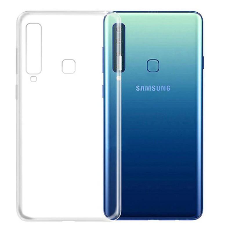 Samsung G. A9 (2018) Ultra slim szilikon védőtok - Átlátszó