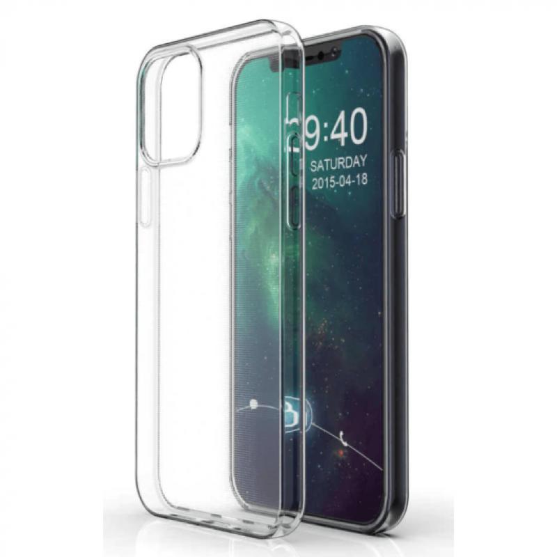 iPhone 12 Mini szilikon védőtok - Átlátszó