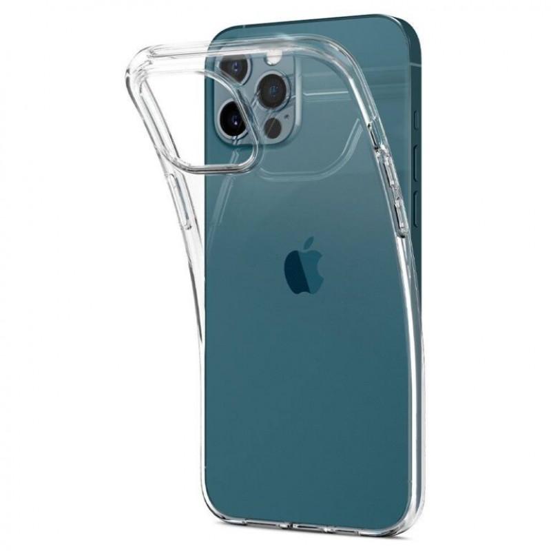 iPhone 12 Pro Max szilikon védőtok - Átlátszó