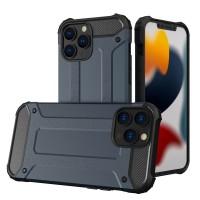 iPhone 13 Pro Max Hybrid Armor kemény páncél tok - Kék