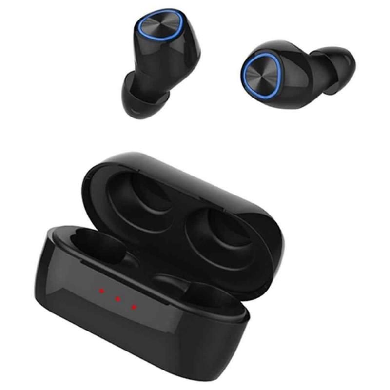 Remax mini vezeték nélküli fülhallgató/headset Bluetooth 5.0 TWS-16 - Fekete