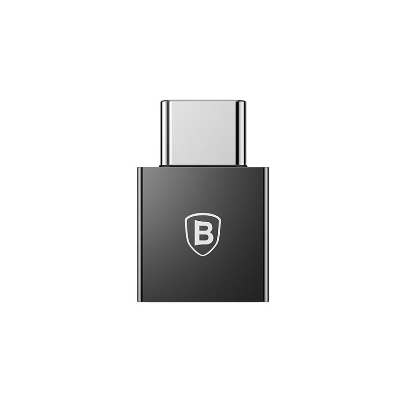 USB/Type -C átalakító Adapter Baseus - Fekete