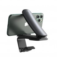Baseus Big Mouth Pro univerzális csiptetős telefontartó műszerfalra - Fekete