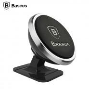 Mágneses autós telefontartó műszerfalra Baseus - Ezüst