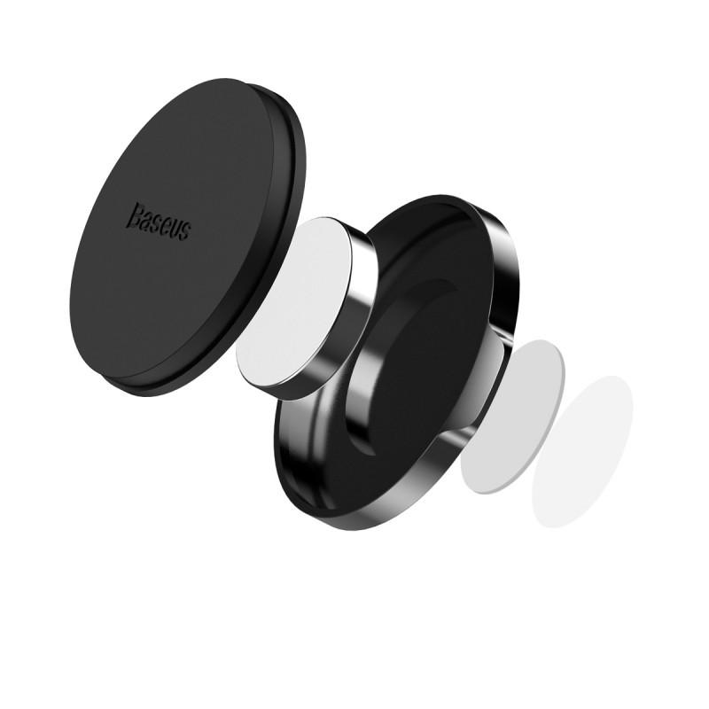 Small Ears mágneses autós telefontartó műszerfalra Baseus - Fekete