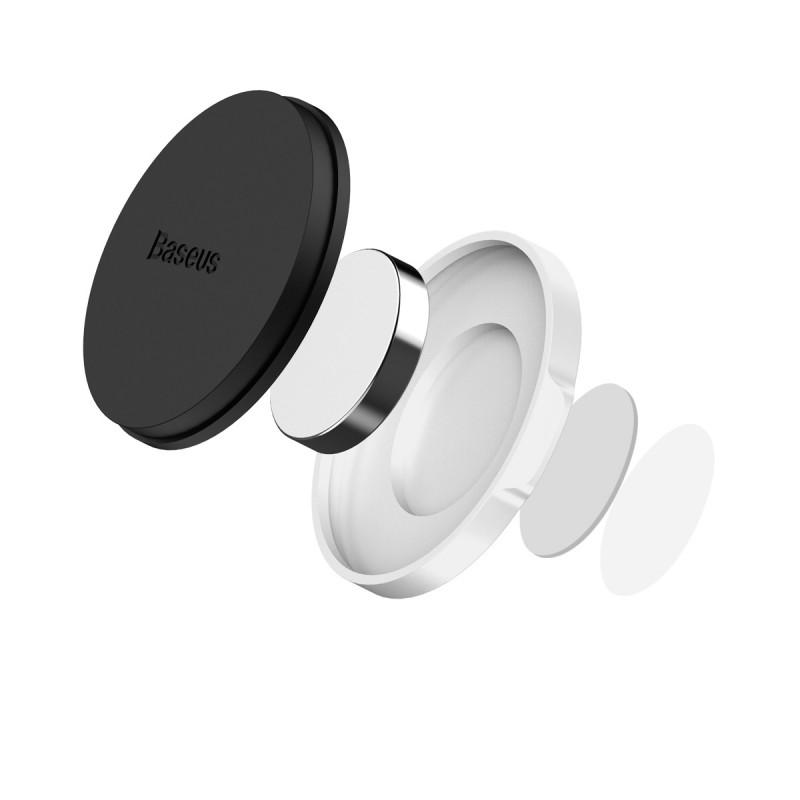 Small Ears mágneses autós telefontartó műszerfalra Baseus - Ezüst