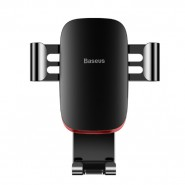 Metal Age autós telefontartó szellőzőrácsra Baseus - Fekete