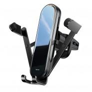 Baseus Penguin gravitációs telefontartó szellőzőre - Fekete