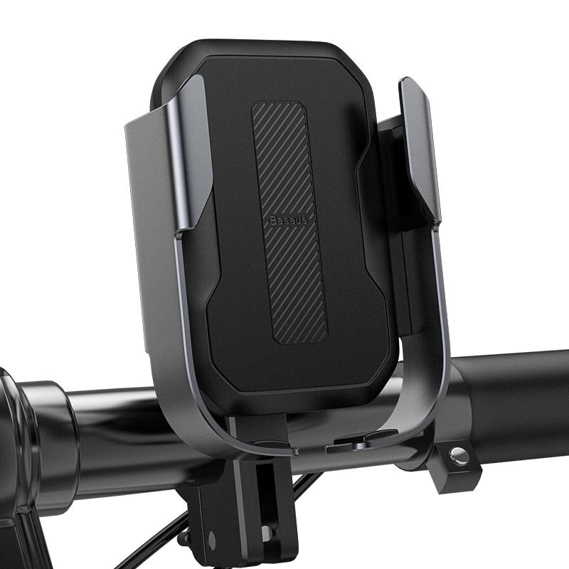 Biciklire szerelhető mobiltelefon tartó Baseus - Fekete