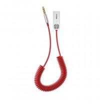 BA01 USB vezeték nélküli adapter kábel 3,5mm jack Baseus - Piros