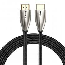 Horizontal 4KHDMI-4KHDMI adapter kábel 2m Baseus - Fekete