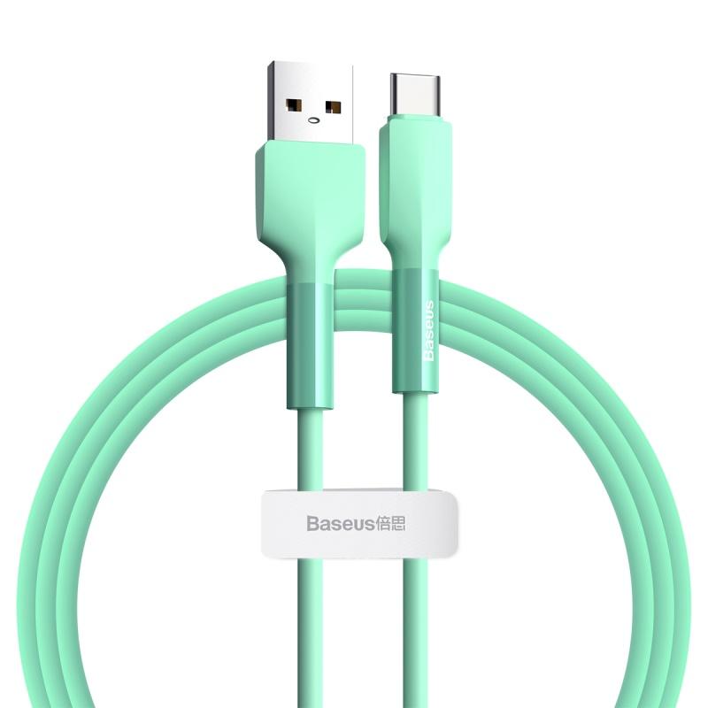 Baseus Silica USB-C adat/töltő kábel 3A 1m - Z�...