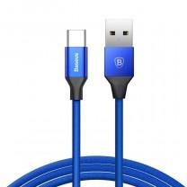 Yiven Type-C töltő kábel 3A 1,2m Baseus - Kék