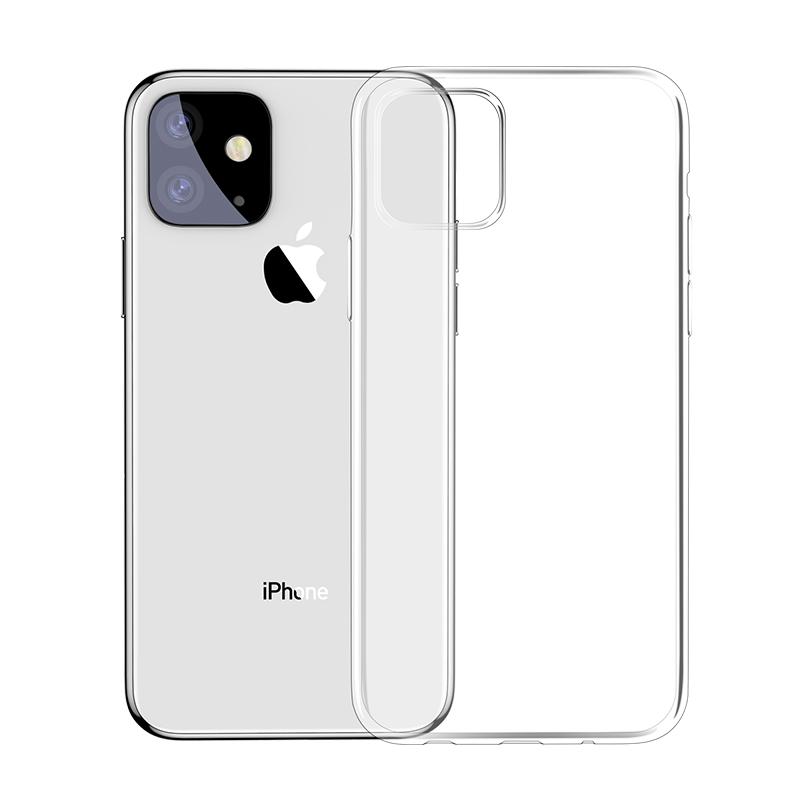 Baseus Simlicity iPhone 11 szilikon tok - Átláts...