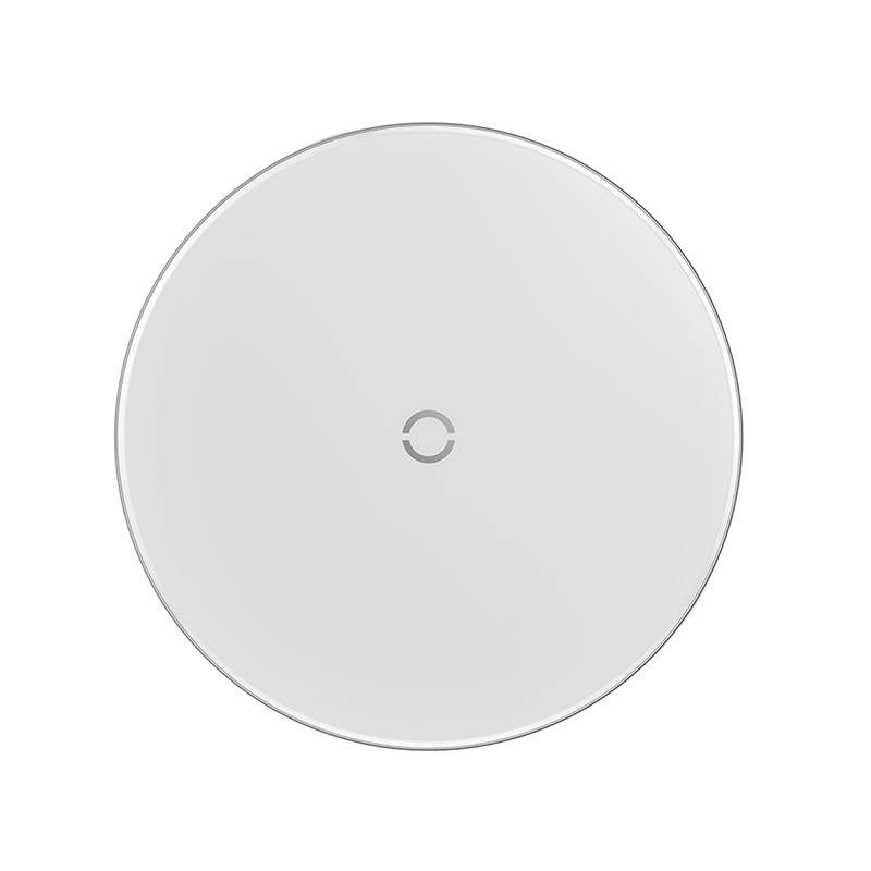 Simple vezeték nélküli wireless gyorstöltő (5W/7.5W/10W) Baseus- Fehér
