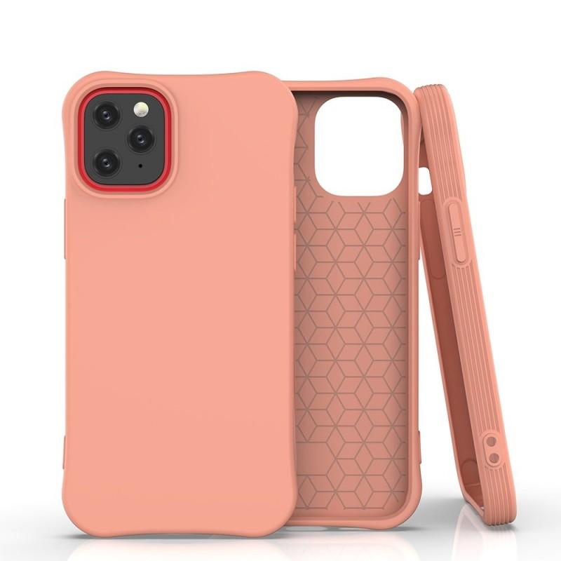 iPhone 12 Mini Soft Color flexibilis gél tok - Narancs