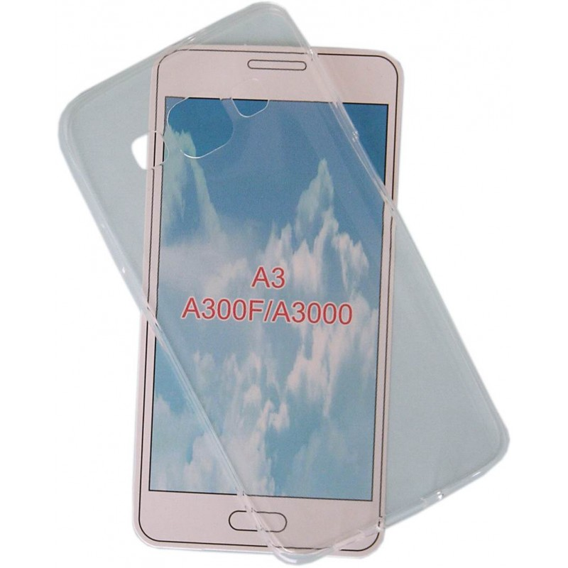 Samsung Galaxy A3 Ultra slim szilikon védőtok