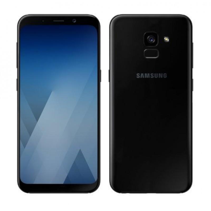 Samsung G. A5/A8 (2018) Ultra slim szilikon védőtok - Átlátszó