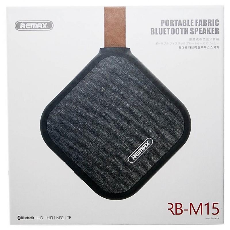 Remax RB-M15 Bluetooth hangszóró - Fekete