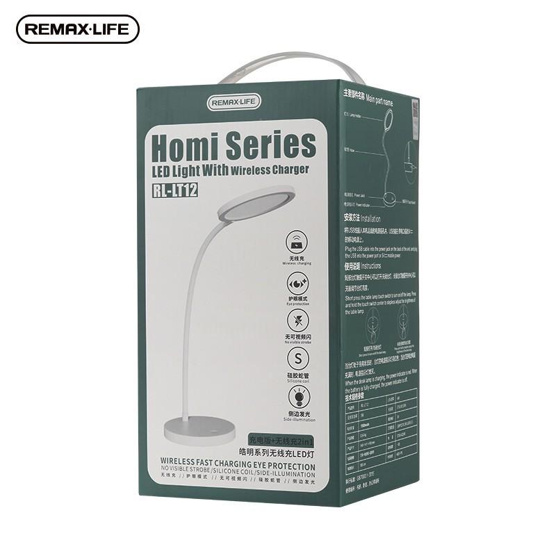 Remax RL-LT12 LED lámpa vezeték nélküli töltővel