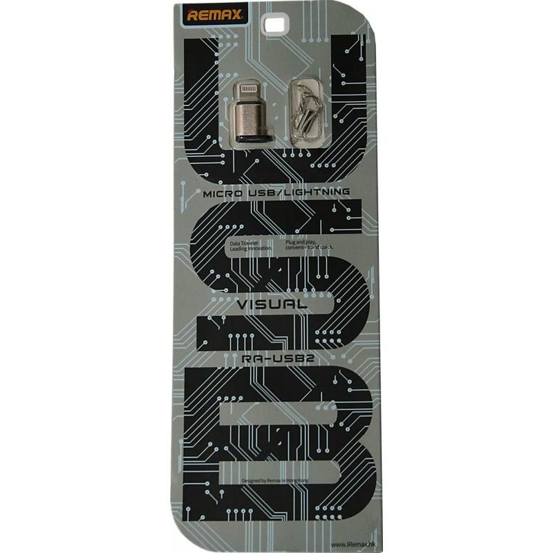 Remax Micro USB - Lightning adapter - Ezüst