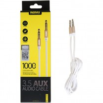 3.5 mm Aux audio kábel RL-L100 Remax - Fehér