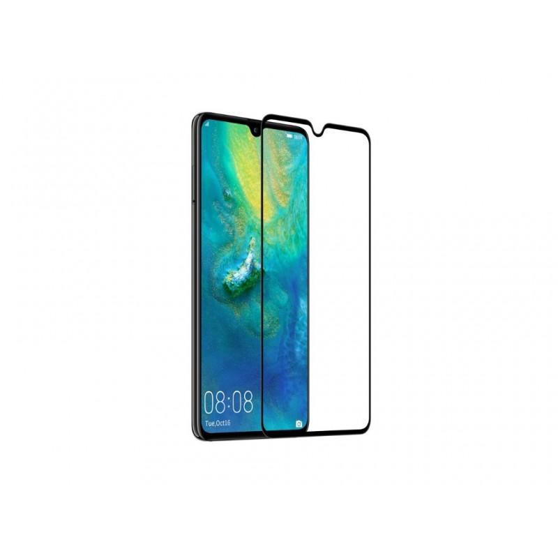 Huawei Mate 20 5D Edge to edge üveglap - Fekete
