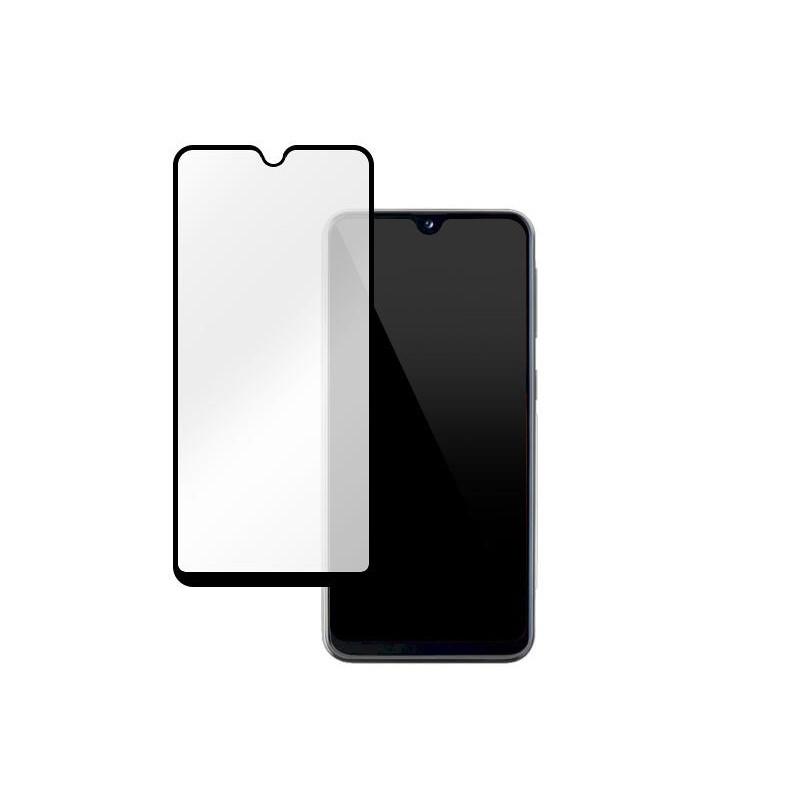Samsung Galaxy A20E 5D Edge to edge üveglap - Fekete