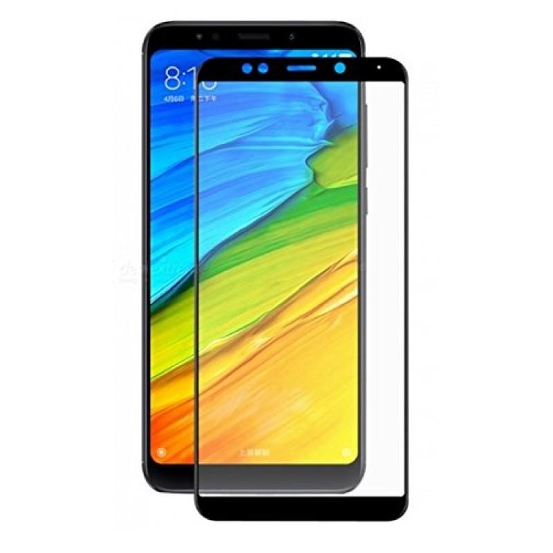Xiaomi Redmi 5 Plus Edge to Edge üveglap - Fekete