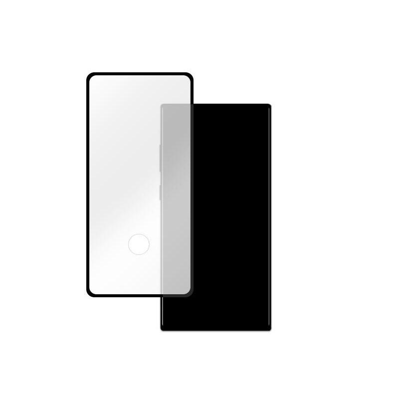 Samsung Galaxy Note 10 Plus - Full Glue kijelzővédő üveglap - Fekete