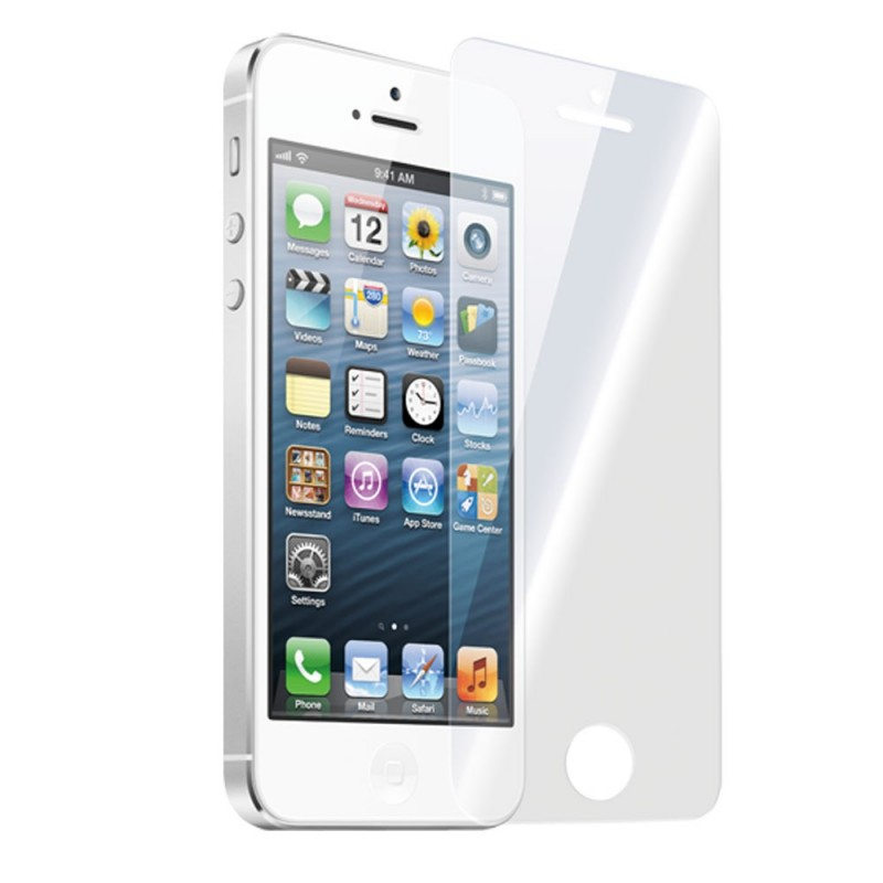 iPhone 5/5S kijelzővédő üveglap - 0,2mm
