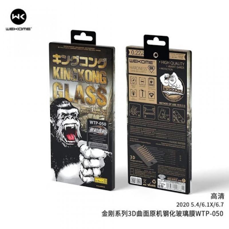 WK iPhone 12 Mini (5,4) Kingkong 3D üvegfólia WTP-050 - Fekete