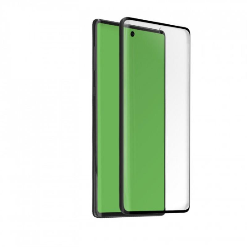 Samsung Galaxy Note 10 - Full Glue kijelzővédő üveglap - Fekete